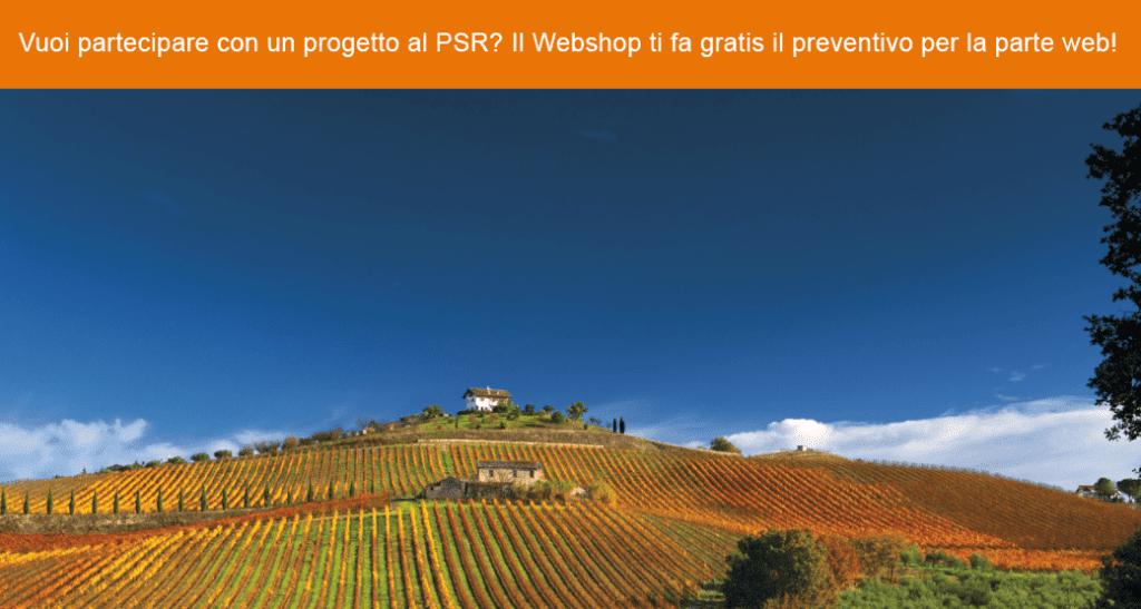 Preventivo realizzazione sito web e-commerce per bando PSR Abruzzo e non