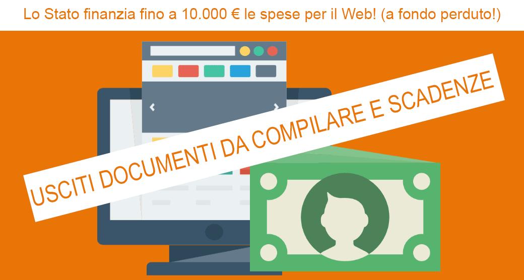 Voucher per la digitalizzazione delle Pmi: escono i documenti da compilare e le scadenze