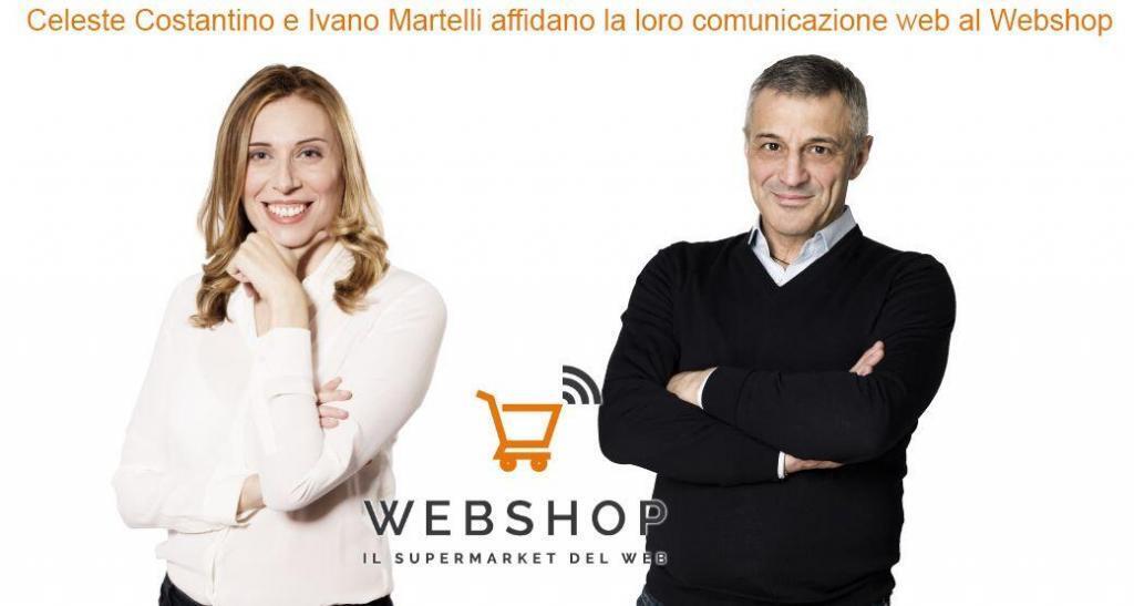 Celeste Costantino e Ivano Martelli affidano la loro comunicazione web al Webshop